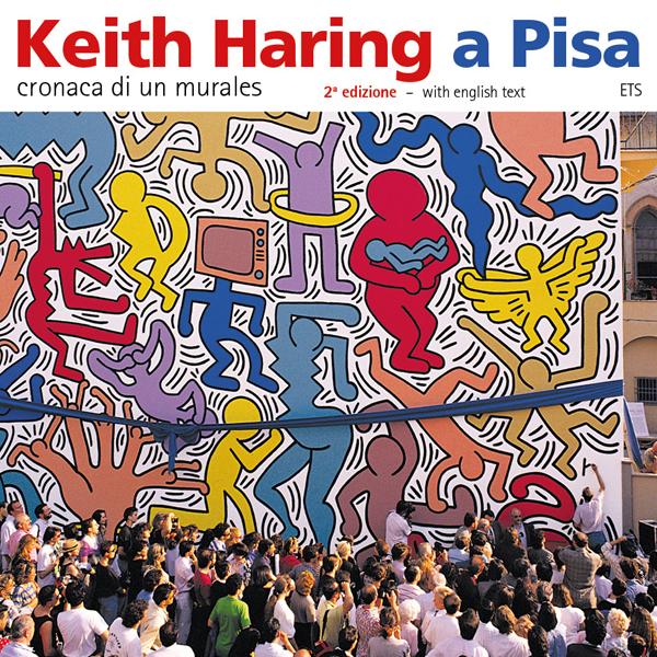 foto da capa do livre sobre Keith Haring, é a foto da inauguração da obra