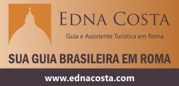 www.ednacosta.com site da assistente turística em Roma