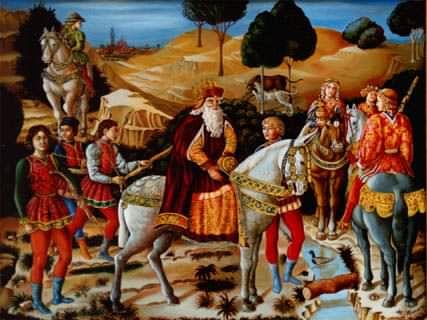 Afresco: Cavalgada dos Magos, Benozzo Gozzolli