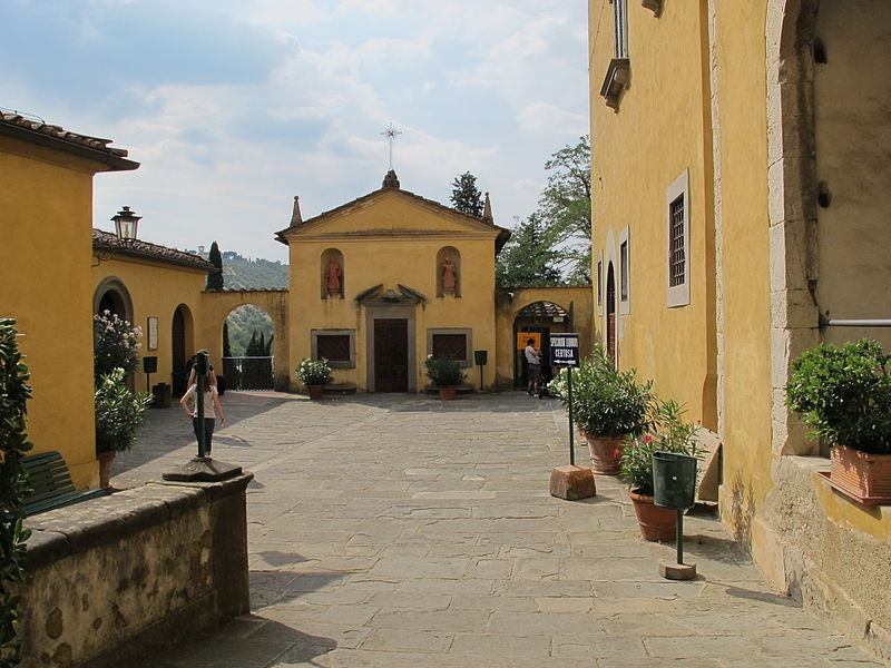 Certosa di Firenze Fonte: Wikipedia Commons