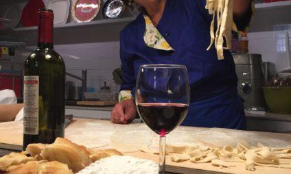 Aula de culinária em Roma em português – particular