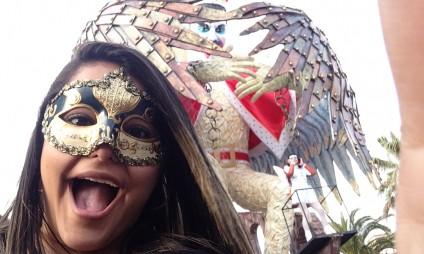 A experiência do Carnaval de Viareggio – por Jéssica Yasminne