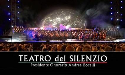 Pacote para o show do Andrea Bocelli