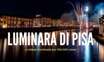Luminara de Pisa, a cidade iluminada por 100.000 velas!
