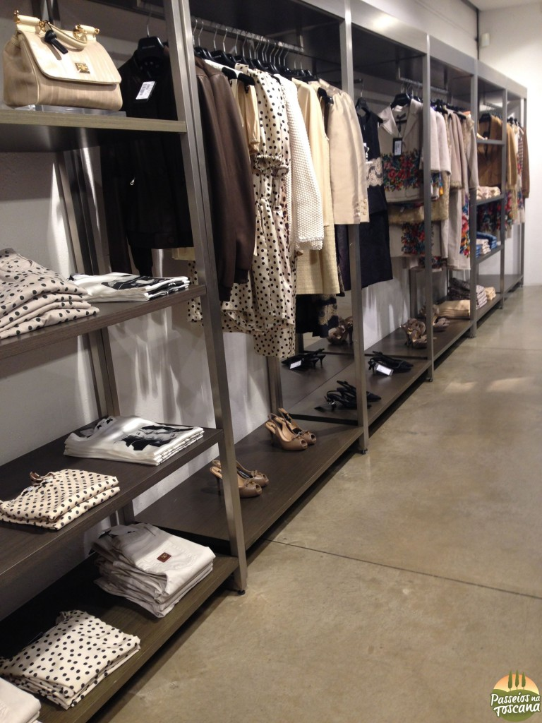 Interno do D&G outlet