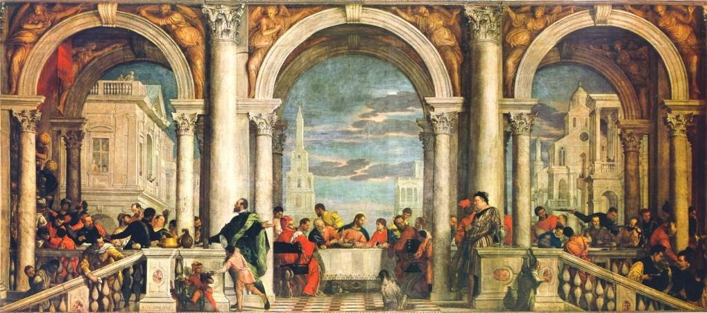 A Última Ceia de Veronese, na minha opinião, uma das mais lindas da Itália, fica no Museu Accademia de Veneza