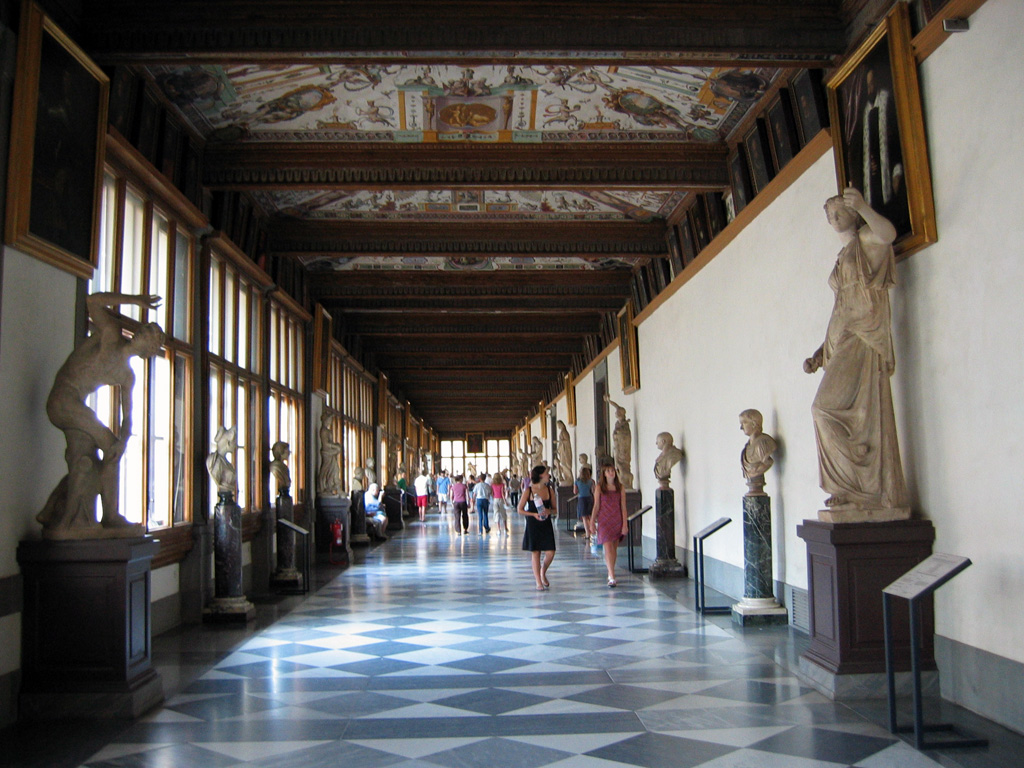 Galleria degli Uffizi Fonte: Wikipedia Commons