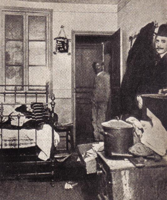 """quarto onde ele """"dormiu com a Mona Lisa"""" por 28 meses"""