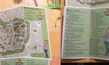Novidade: mapas  de Florença, Pisa, Lucca e Siena grátis para download no Blog!