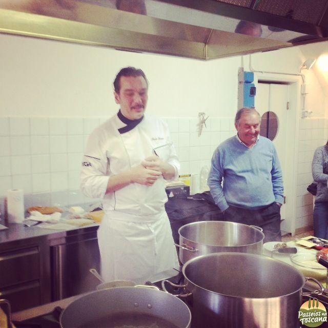 Chef Italo Bassi da Enoteca Pinchiorri