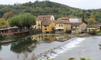 Borghetto sul Mincio, vilarejo bucólico na região de Garda