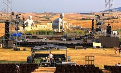 O Show do Andrea Bocelli em 2015 – 10 anos de Teatro del Silenzio