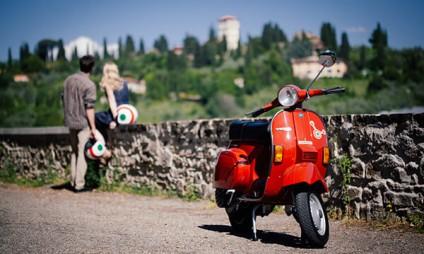 Tour de Vespa na Toscana