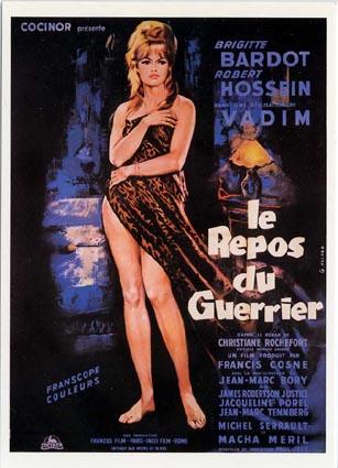 Amor em uma Pillow (Le repos du guerrier) (Roger Vadim, 1962)