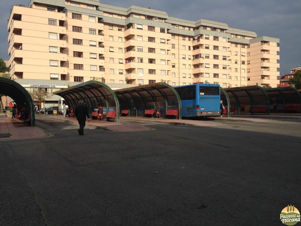 onde pegar o ônibus