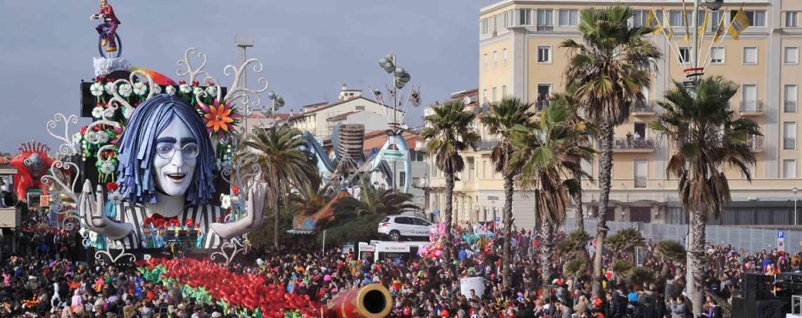 O Calendário de Eventos do Carnaval de Viareggio 2018