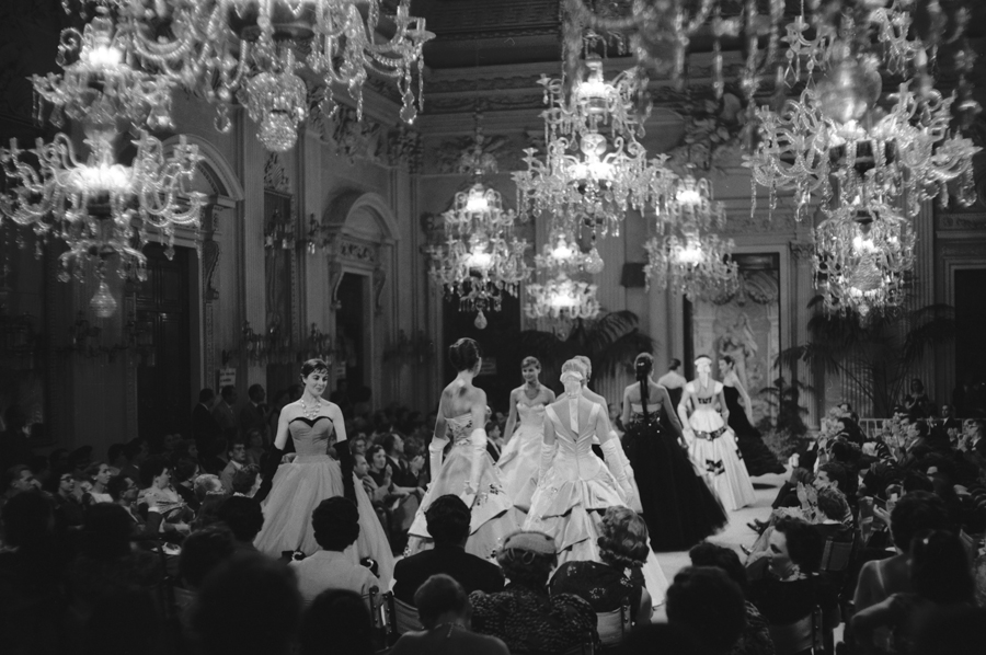 Tenth Italian High Fasion Show, Sala Bianca,  July 1955 - Foto: Pitti Immagine .it