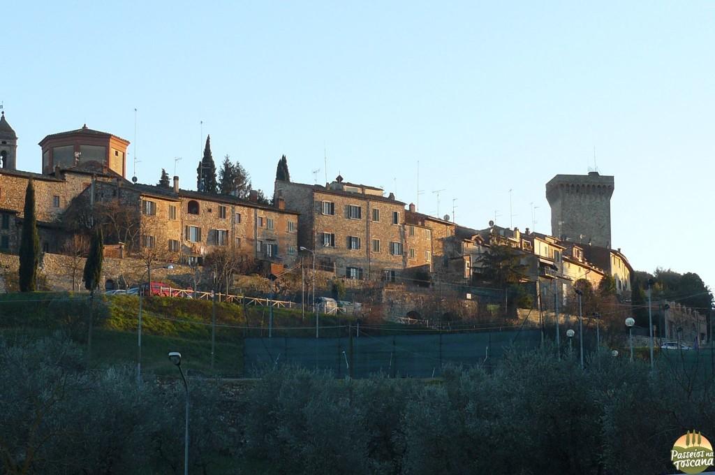 Vista de Lucignano
