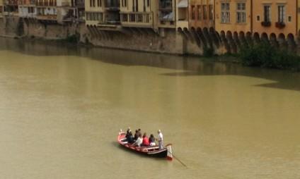 Passeio de Barco em Florença