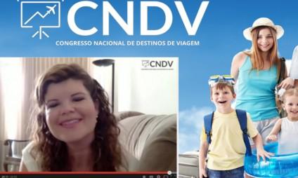 Minha entrevista e palestra no Congresso Nacional de Destinos de Viagem