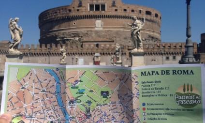Roteiro de Roma com Mapa grátis
