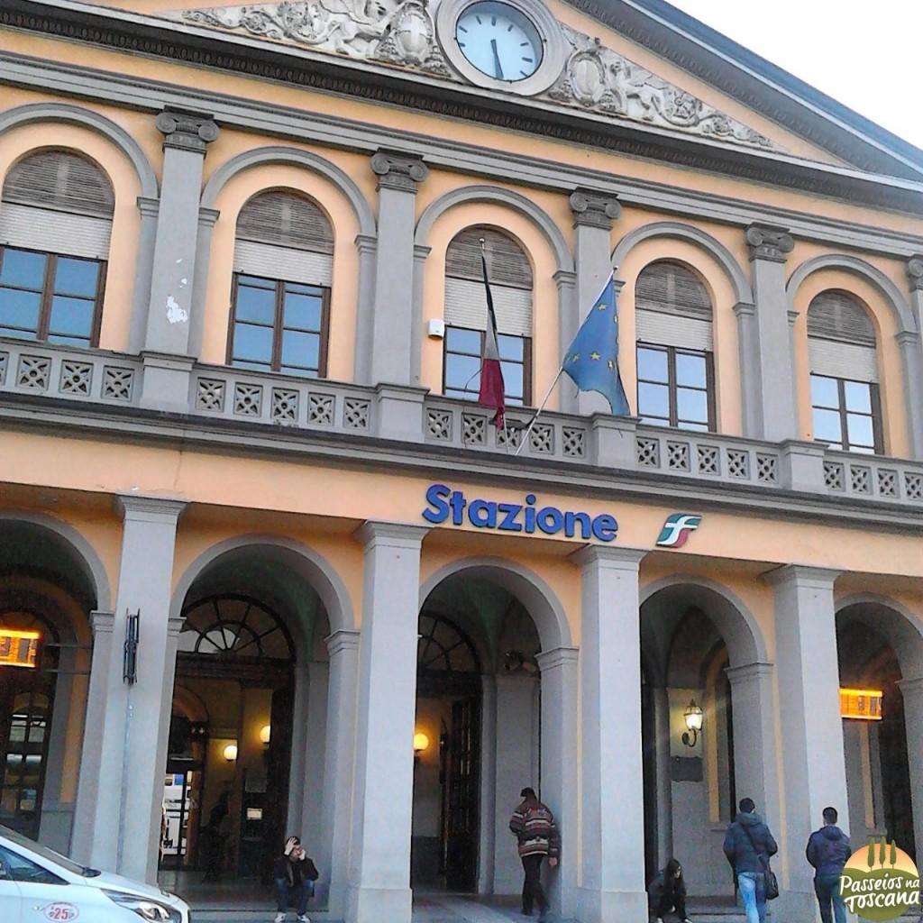 estação de trem de Lucca