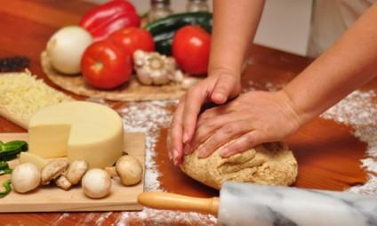 Aula de Culinária & Compras no Mercado – em grupo