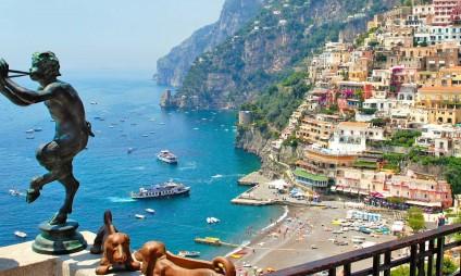 Tours de Roma para: Napoli, Pompei, Capri e Positano