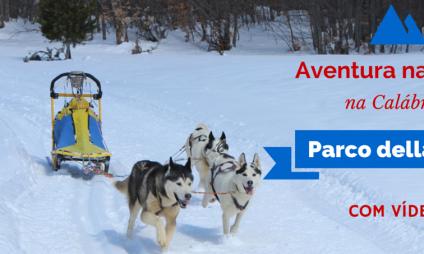 Aventura na neve na Calábria – Parco della Sila
