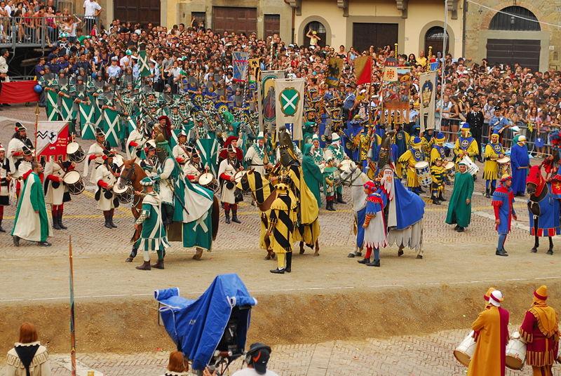 Giostra del Saracino Fonte: Wikipedia Commons