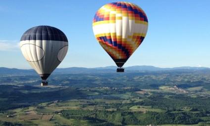 Passeio de Balão na Toscana