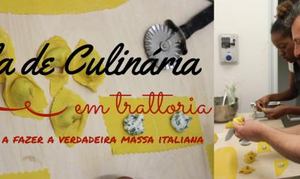 Aula de Culinária em Trattoria: aprendendo a fazer a verdadeira massa italiana