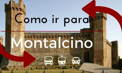 Como ir a Montalcino?