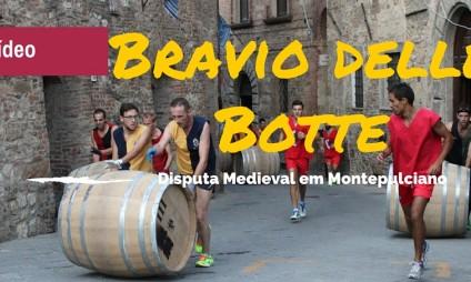 Vídeo: Bravio delle Botte em Montepulciano