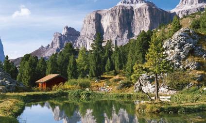 Tour pelas Dolomitas, lagos e montanhas
