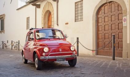 Tour em Fiat 500 na Toscana