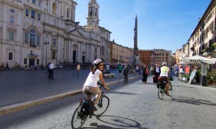 Tours de bicicleta em Roma