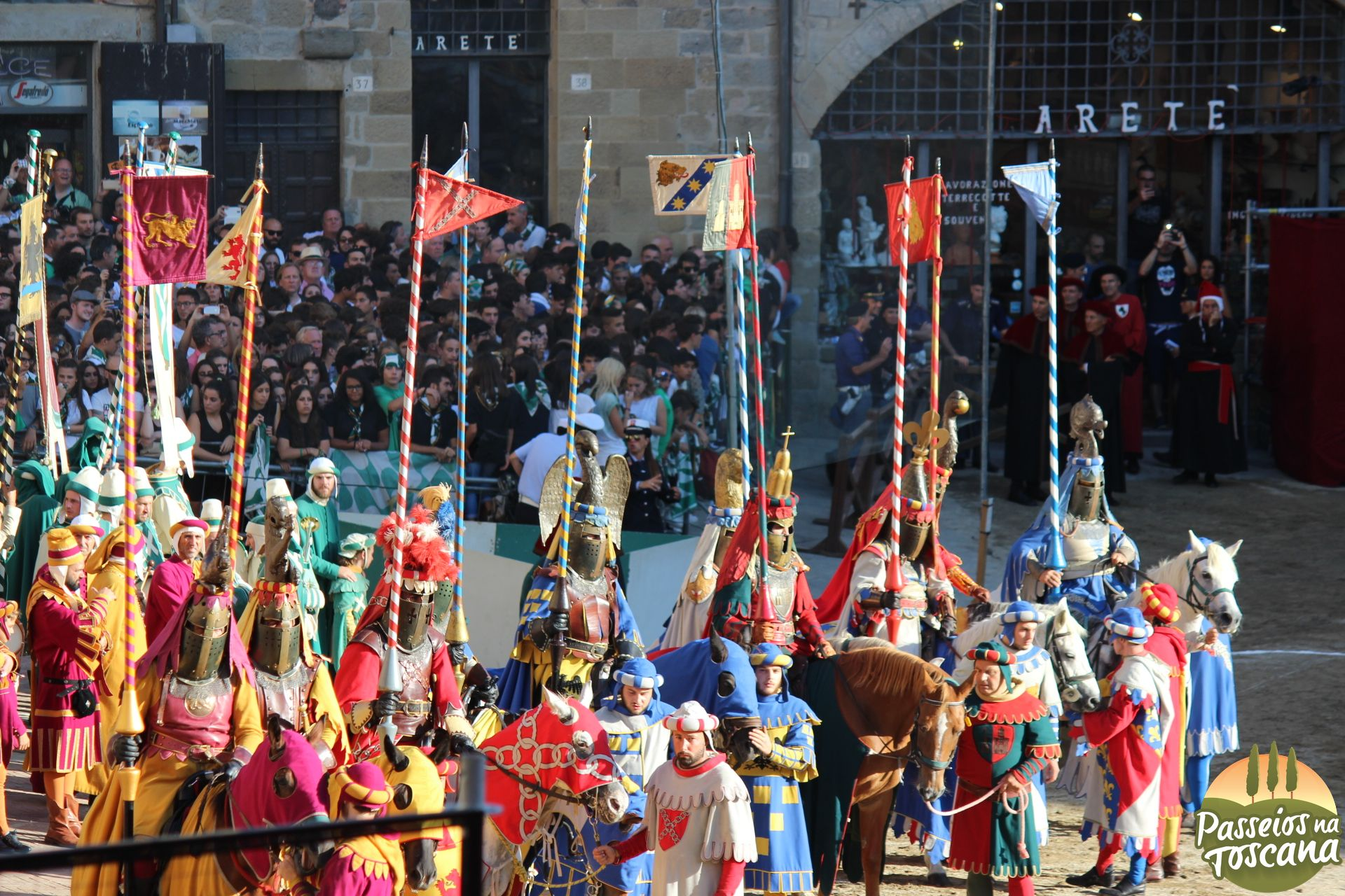 Festas Medievais na Toscana