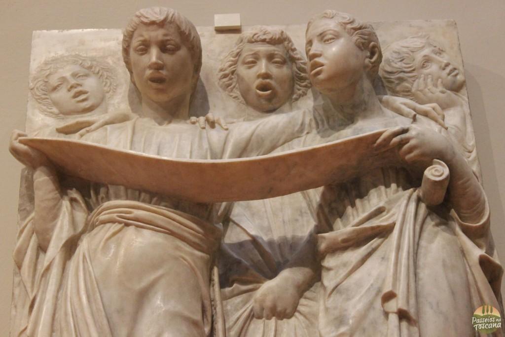 detalhe da obra Cantoria -Museo OPA