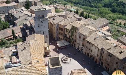 Tour em San Gimignano e Volterra
