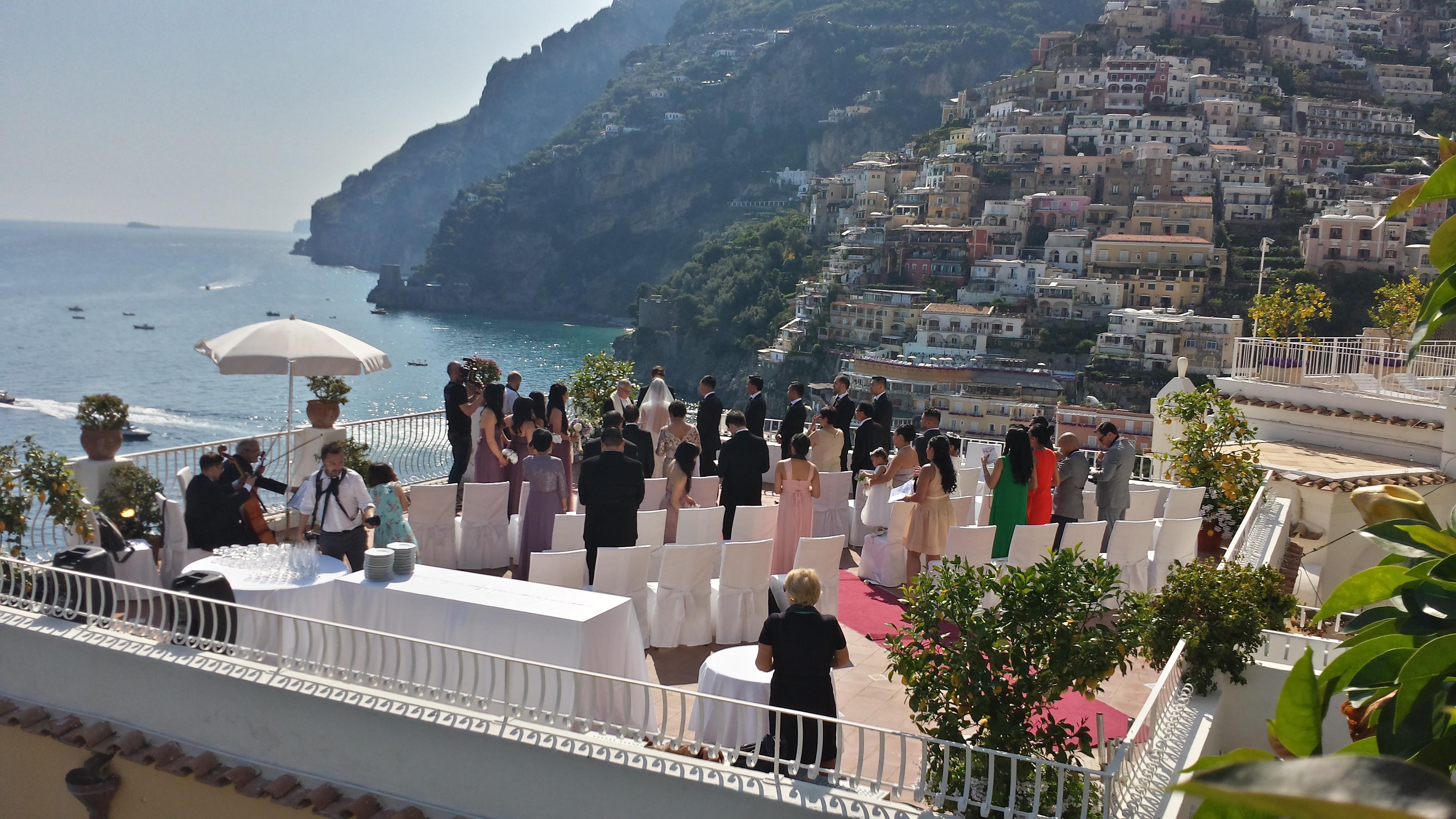 casamento em um Hotel na Costa Amalfitana