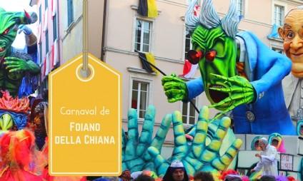 O Carnaval de Foiano della Chiana + vídeo