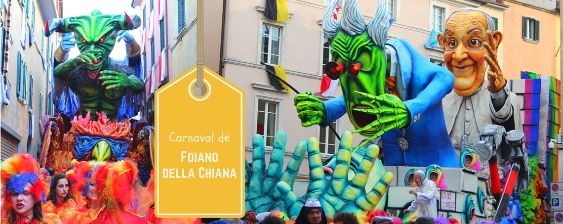 Capa Carnaval de Goiano della Chiana