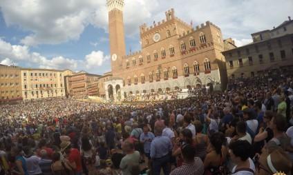 Fotos do Palio de Siena