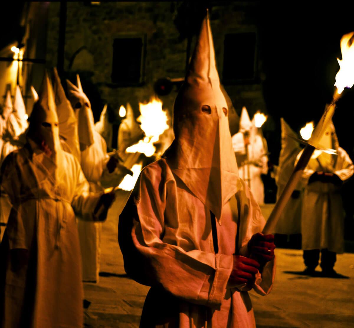 processione em Castefiorentino