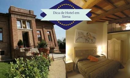 Dica de Hotel em Siena: Villa del Sole