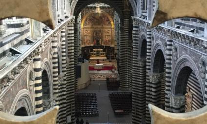 Uma visita diferente ao Duomo di Siena – a porta del cielo