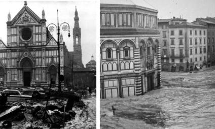 A enchente de Florença de 1966: o dia em que o Arno transbordou