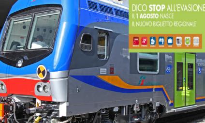 Novas regras para bilhetes regionais Trenitalia