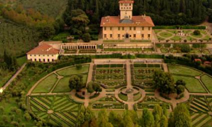 Villas dos Medici na Toscana: Villa La Petraia